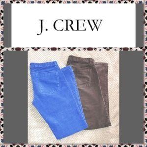 💖 J. Crew (2 Pair) Corduroy Pants